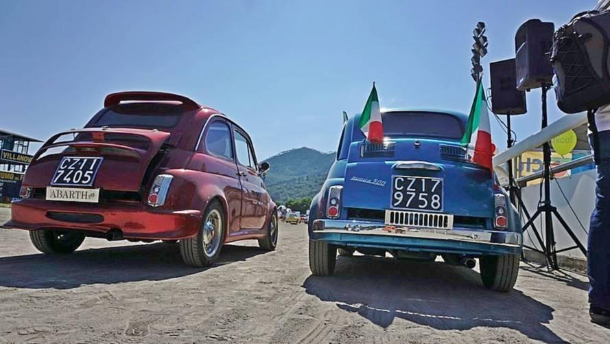 Fiat 500, il 35° raduno internazionale delle Storiche