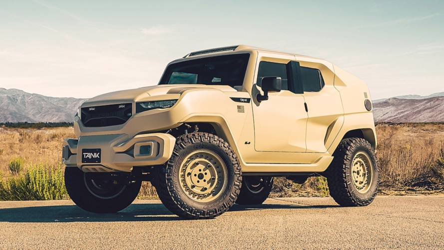 Rezvani Tank Military Edition Can Take A Bullet, Packs A Hellcat