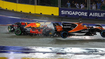 Depart GP Singapour Alonso