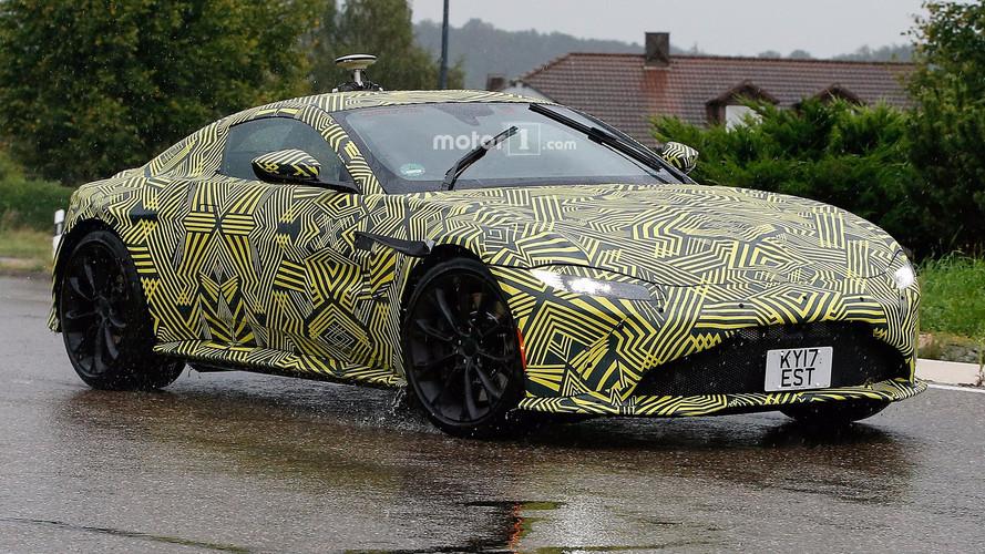 2019 Aston Martin Vantage spy photos