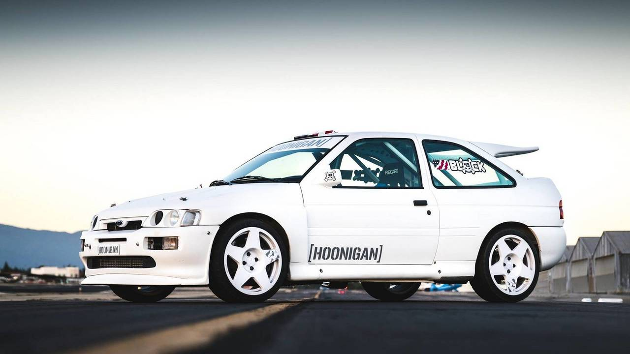 Ken Block\'s Ford Escort RS Cosworth Rally Car | Motor1.com Photos