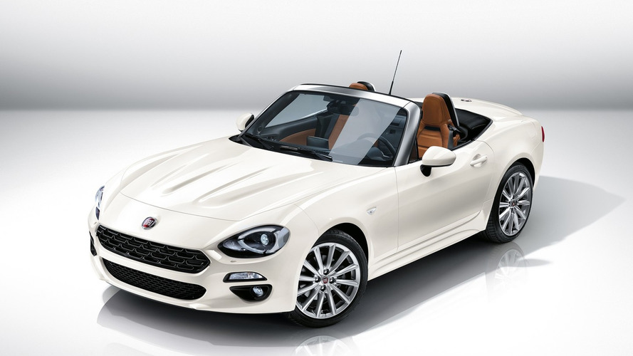 Fiat 124 Spider puts on Euro clothing and gets less powerful 140 bhp 1.4 turbo