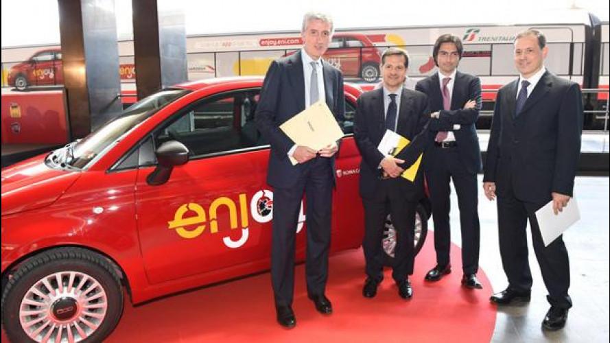 Enjoy, come funziona il car sharing Eni