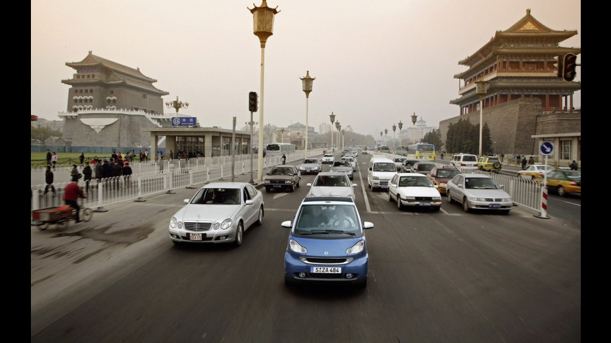 smart fortwo: in Cina dal 2009