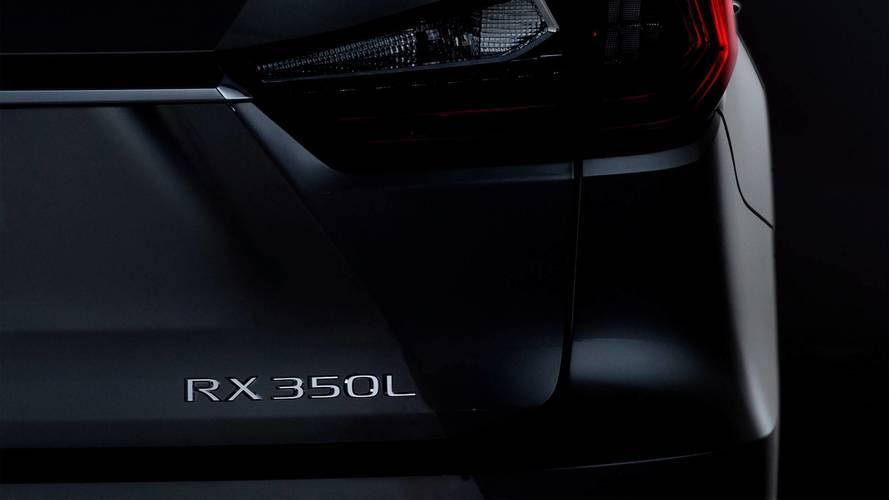 Lexus RX, 3 sıra koltuğuyla geliyor