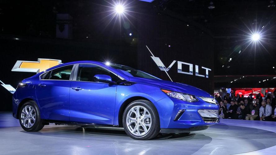 2016 Chevrolet Volt rated at 53-mile electric range