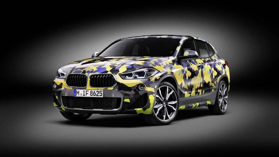 Álcafóliával is megvásárolható a BMW X2