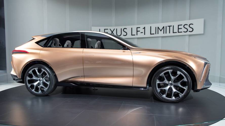 Lexus LF-1 Limitless Concept Could Hint At All-New LX