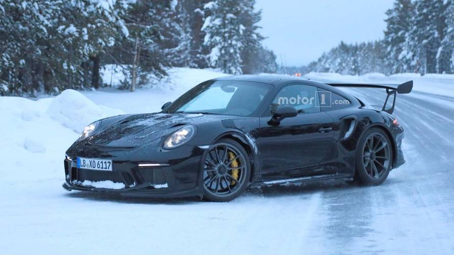 Porsche 911 GT3 RS Facelift Spied Completely Free Of Camouflage