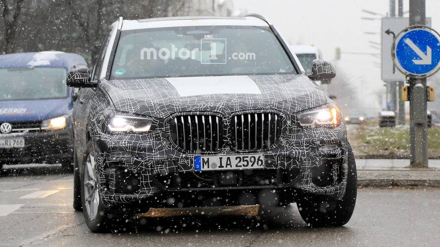2019 BMW X5 Can't Hide Its Massive Grille In New Spy Photos
