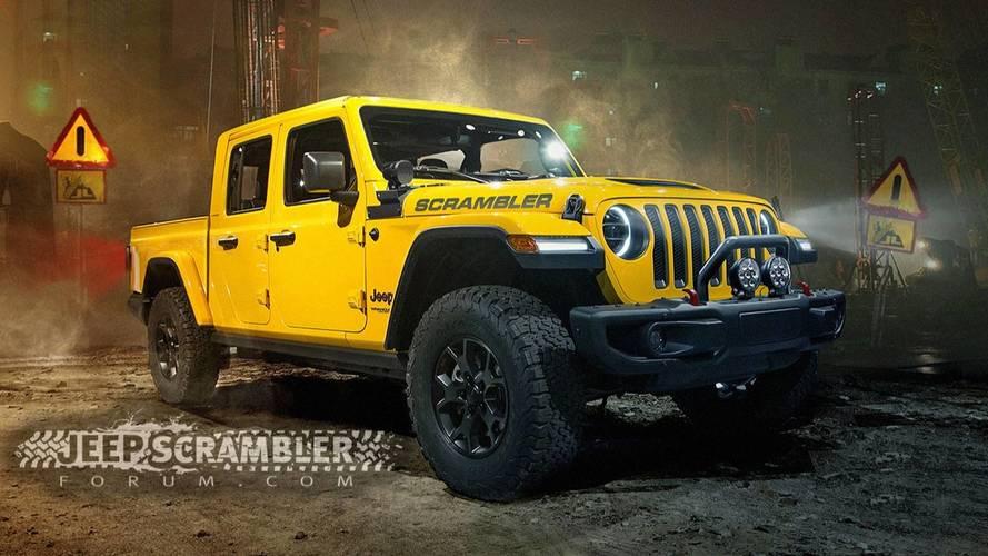 2019 Jeep Scrambler'ın hayali tasarımları gerçek gibi görünüyor