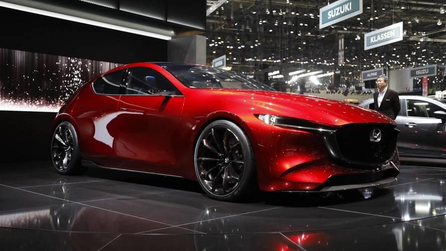 Kifejezetten jól mutat a Mazda Kai tanulmánya