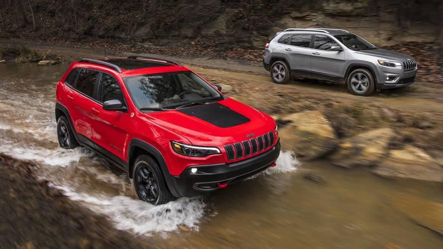 Jeep Cherokee restylé 2018