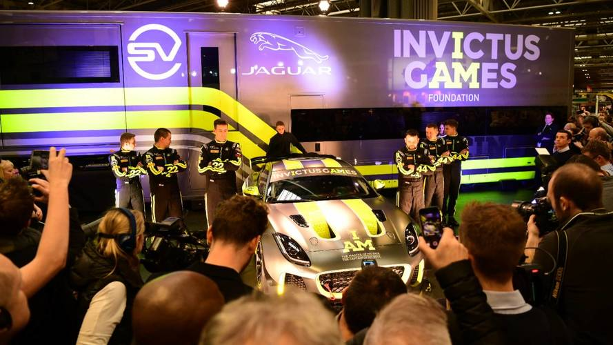 Injured troops to race Jaguar in British GT Championship