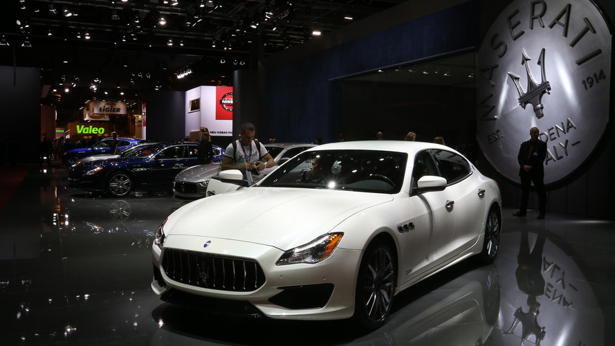 Maserati Quattroporte 2016 Mondial de l'Automobile