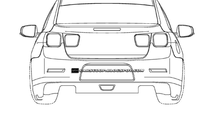 Possible New Chevrolet Malibu Patent Designs Surface