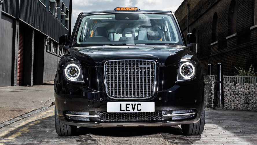New London taxi revealed: Meet the LEVC TX