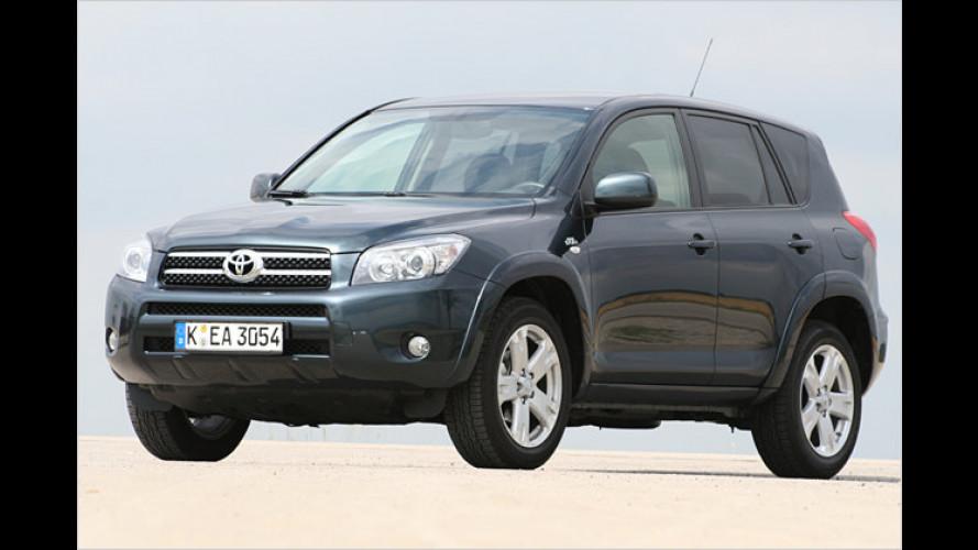 Hoher Hoppel: Toyota RAV4 2.2 D-CAT Executive unterwegs