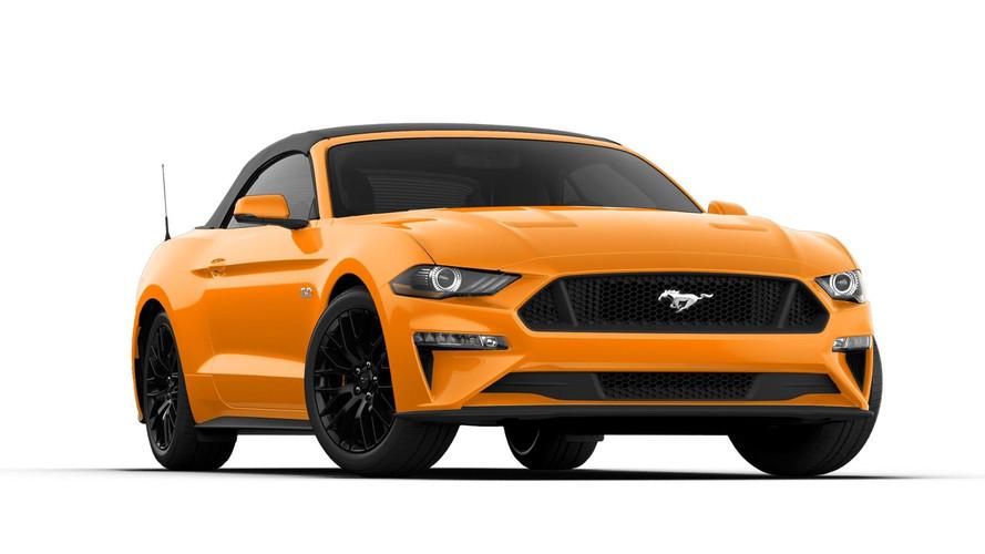 Ford Mustang 2018 - Un restylage et de la puissance