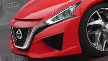 Nuova Nissan 370Z, il rendering
