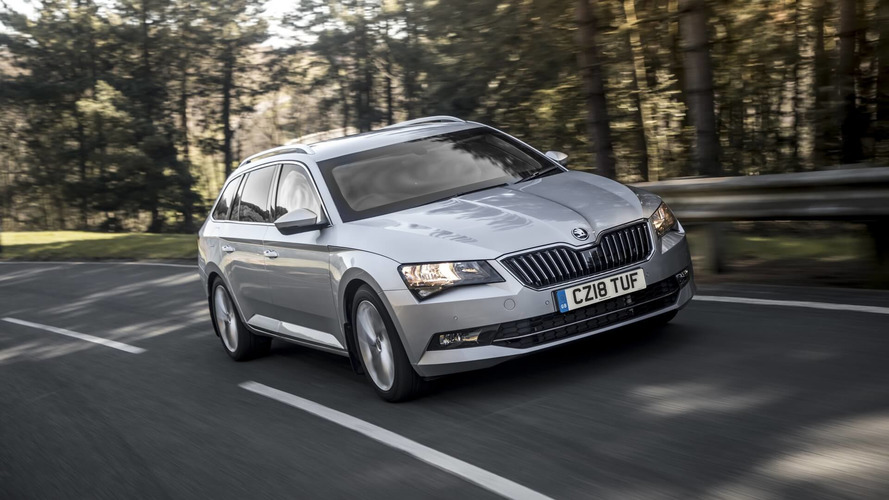 Zırhlı Skoda Superb Wagon