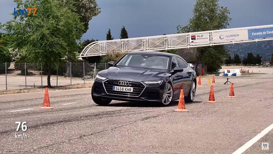 Jelesre vizsgázott a Jávorszarvas teszten az új Audi A7