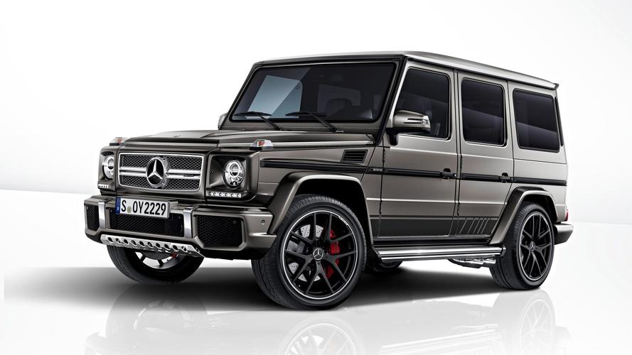 Mercedes G-Wagen will bow out disgracefully