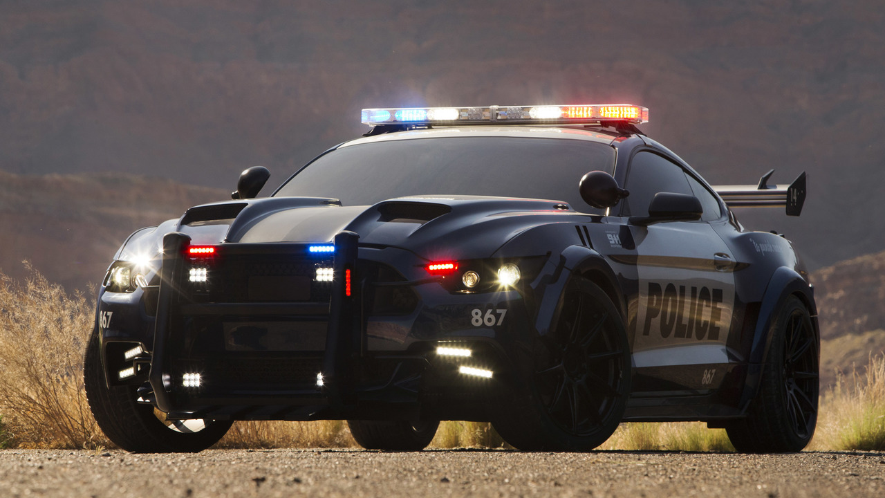 Ford Mustang Barricade