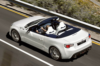 FT-86 Open Concept Previews Scion FR-S Convertible