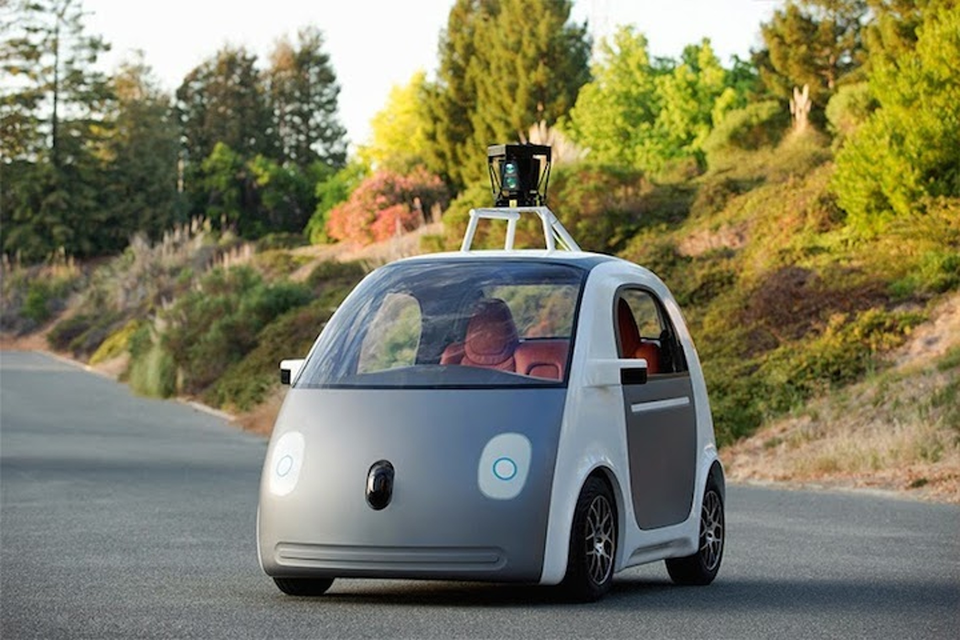 Google's Autonomous Cars Are Programmed To Speed