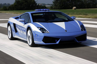 Watch a Lamborghini Gallardo Cop Car Do Some Sweet Donuts