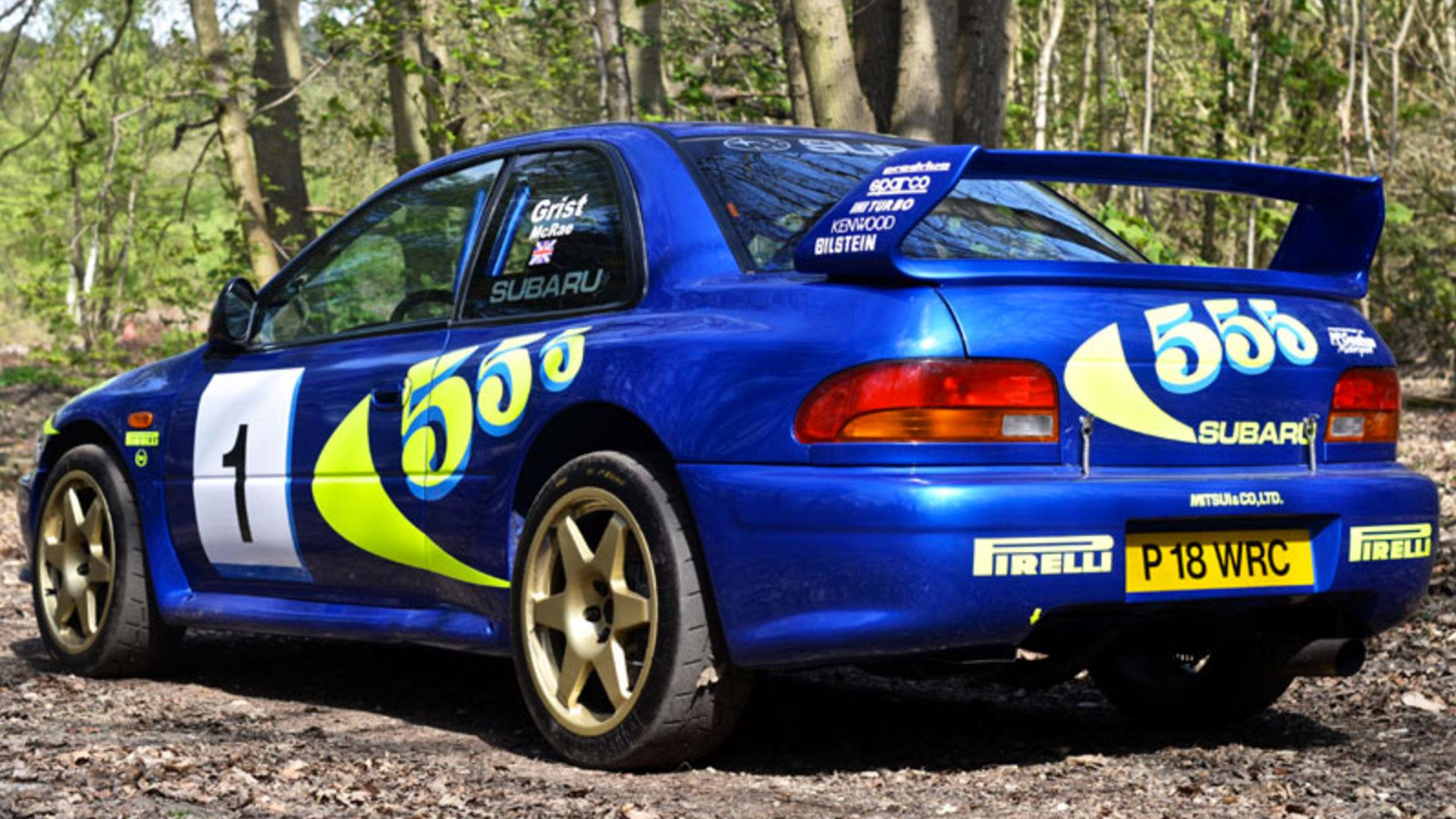 Colin McRae\'s Subaru Impreza WRC Test Car Sells For Nearly $300K