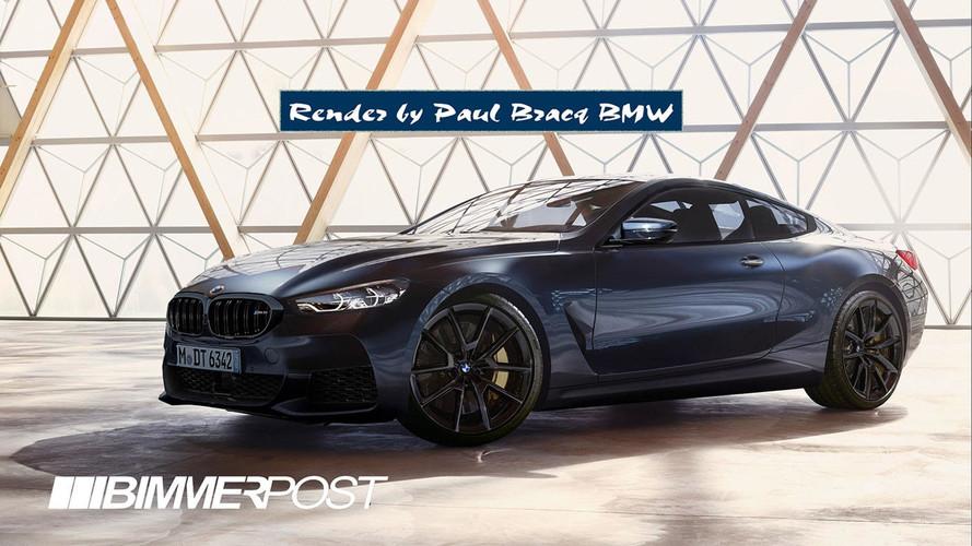 BMW M8'e gerçeğe yakın tasarım yorumu
