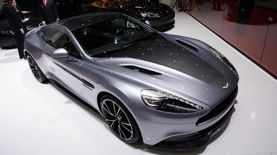 Aston Martin Centenary Edition arrives in Geneva