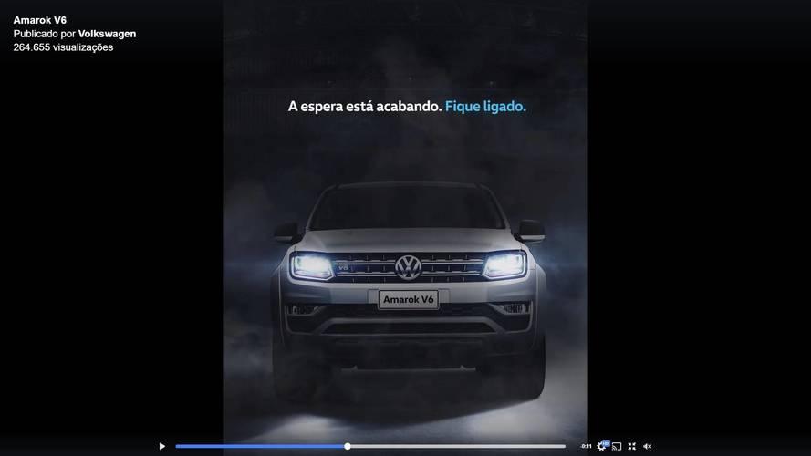 Volkswagen começa a anunciar Amarok V6 nas redes sociais