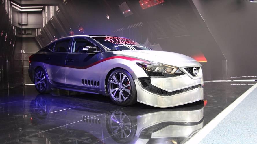 Nissan y Star Wars se alían en el salón de Los ángeles