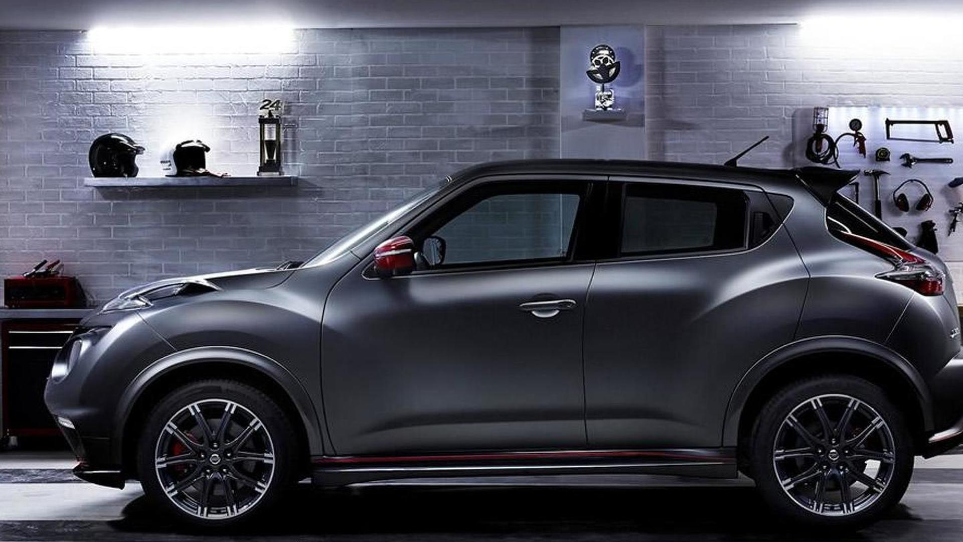 Nissan Juke Nismo RS facelift es to Geneva with extra 18 HP and 30 Nm