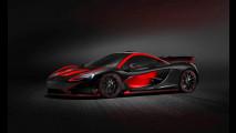 McLaren P1 MSO, agressiva e unica