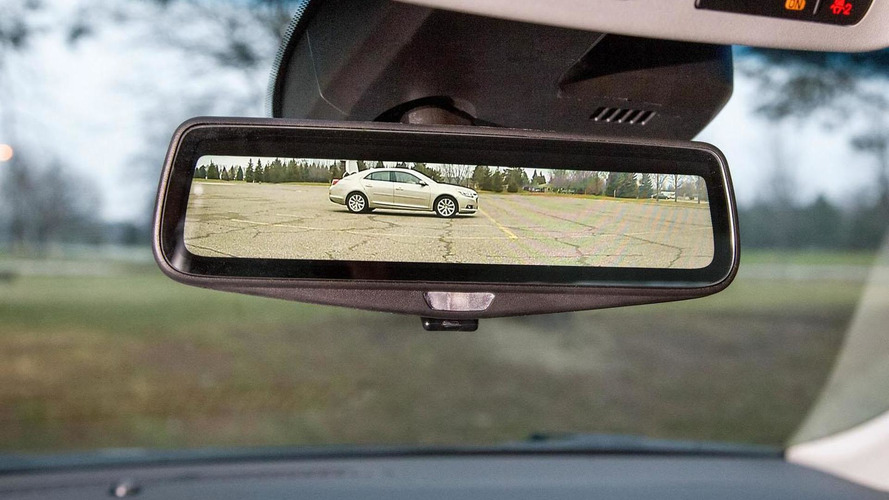 2016 Cadillac CT6 streaming video mirror unveiled