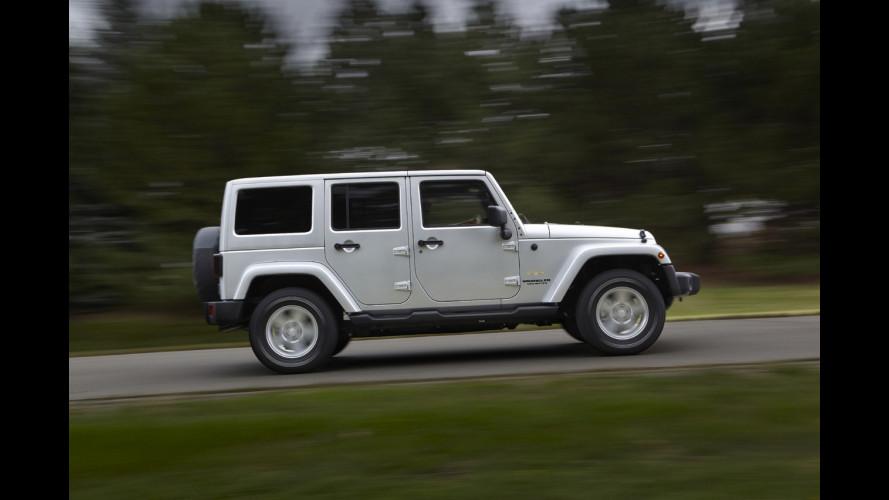 Aumento di produzione in vista per la Jeep Wrangler