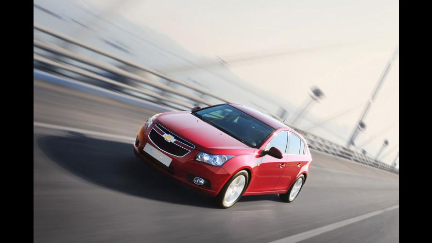 Chevrolet Cruze a quota 1 milione