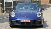 Porsche 911 2019 fotos espia sin camuflaje