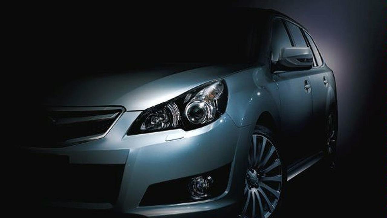 2009 Subaru Legacy sedan JDM teaser