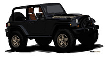 Jeep Wrangler Renegade concept - 4.4.2011