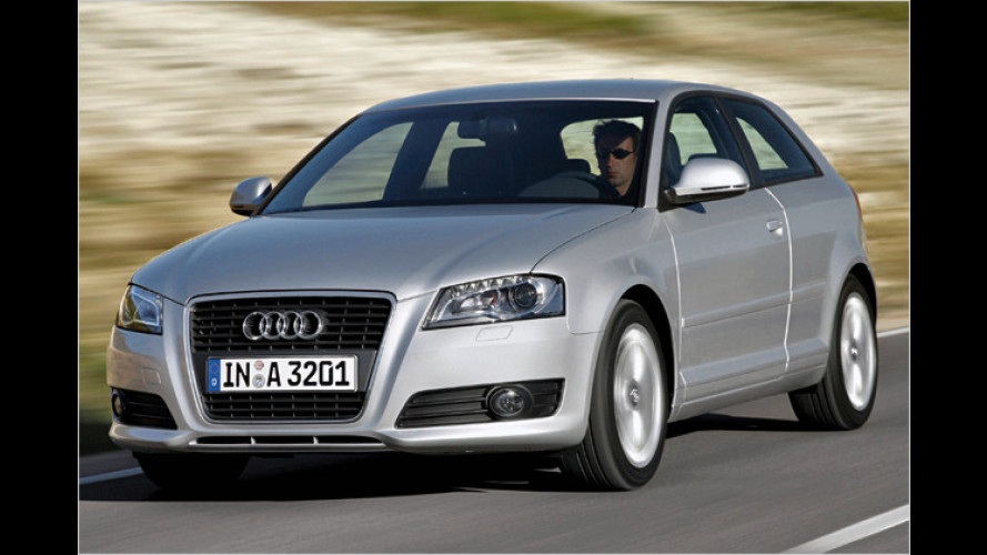 Mit Start-Stopp-Technik: Neue Dieselmotoren für den Audi A3