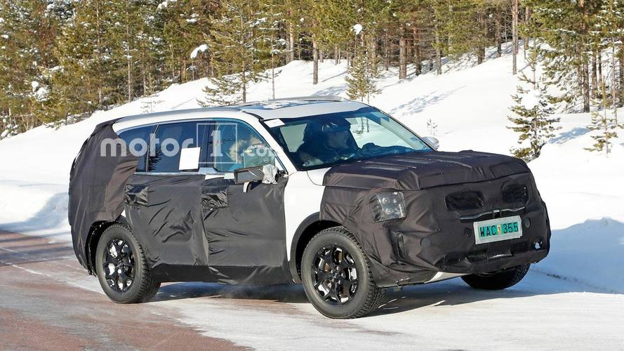 Kia Telluride Spied In The Snow But Not In Colorado