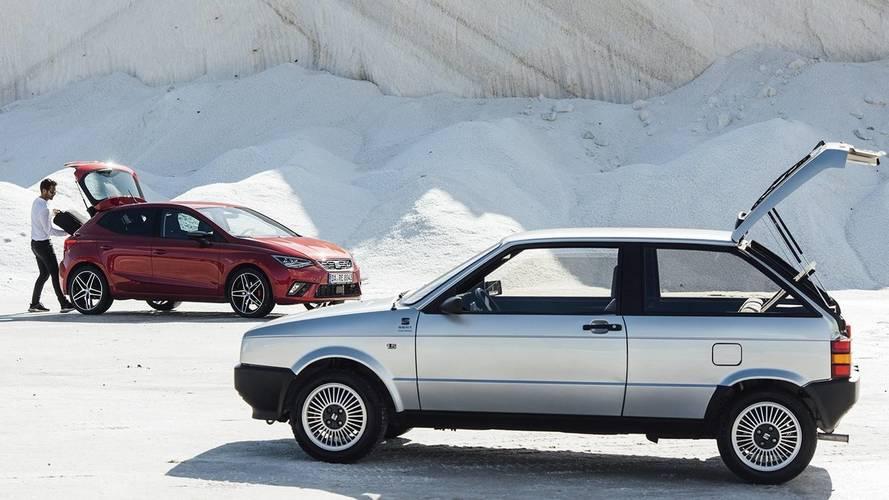 La nouvelle SEAT Ibiza rencontre son aînée