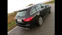 Mercedes C350e Station Wagon, test di consumo reale Roma-Forlì 027