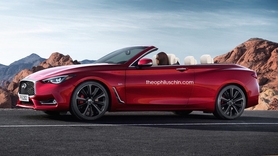 This is the Infiniti Q60 Convertible that won't be built