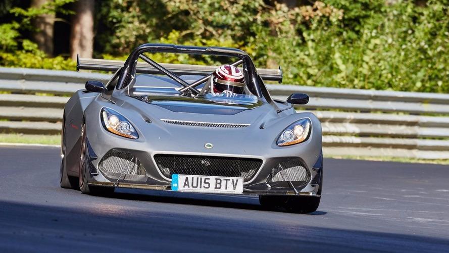 Lotus 3-Eleven, Nürburgring'de sınırları zorluyor